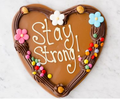 chocolade hart Stay Strong!